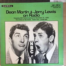 Dean Martin & Jerry Lewis on Radio - Radiola - MR-1102 - Vinyl