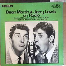 Dean Martin & Jerry Lewis on Radio - Radiola - MR-1102 - Vinyl