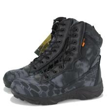 Mens Camo Military Tactical Patrol Boots Desert Combat Army Hiking  Boots Shoes