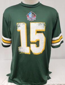 Brand New Majestic TEAM APPAREL Green Bay Packers Bart Starr Men's Jersey
