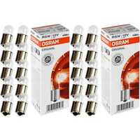 2x Osram Original Line Spare Parts R5W 12V 5W Sockel BA15s 10 Stück