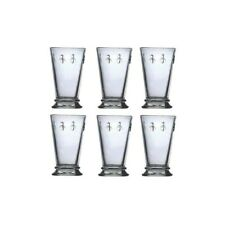 French Bee Glassware - Water / Wine / Beverage Glasses - Set of 6 Glasses