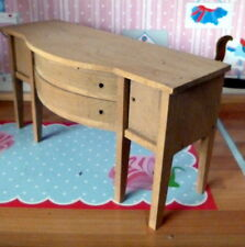 RARE Vintage TYNIETOY Tynie Toy SWELL FRONT SIDEBOARD Dollhouse Miniature 1/12