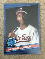 MICHAEL JORDAN 1986 RATED ROOKIE DONRUSS STYLE RC PROMO CARD RARE NEAR MINT