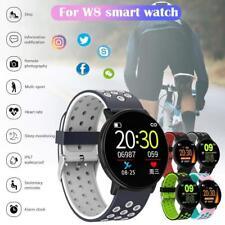 Водонепроницаемые спортивные умные часы сердечного ритма сна монитор браслет для IOS Android