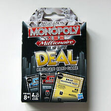Brand New Monopoly Deal Millionaire Card Game Hong Kong Edition