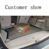1Set.Car.SUV Rear Trunk Boot Floor Net Cargo Elastic Mesh Storage Fixed 115*60cm
