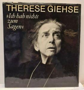 Therese Giehse - Ich hab nichts zum Sagen