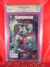 DC Comics Superman/Wonder Woman #12 CGC SS 9.8 Sign Charles Soule & Sienkiewicz