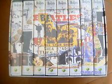 """"""" THE BEATLES ANTHOLOGY """"  COFFRET 8 CASSETTES VHS - PARFAIT ETAT"""
