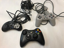 Game System Controller Lot XBox 360 Wireless PlayStation 1 Super Pad RFU Adapter