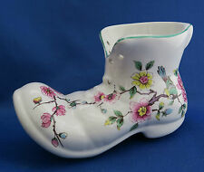 """OLD FOLEY England James Kent """"Chinese Rose"""" Porcelain China Collector Shoe Boot"""