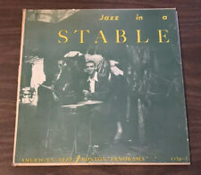 HERB POMEROY 'JAZZ IN A STABLE' /TRANSITION TRLP-1 / MONO 1st Press