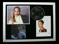 SADE+SIGNED+FRAMED+PROMISE+SWEETEST TABOO=100% AUTHENTIC+EXPRESS GLOBAL SHIP