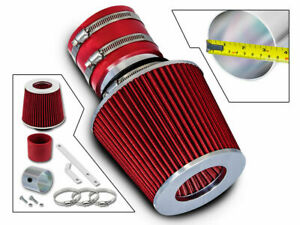 Short Ram Air Intake Kit + RED Filter for 05-09 Spectra5 /00-04 Spectra 1.8 2.0
