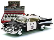 "New Kinsmart Diecast Car  5"" CHEVROLET BEL AIR POLICE"