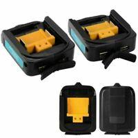 Für MAKITA ADP05 14-18V Li-ion Batterie Dual USB Akkus Ladegerät Charger Adapter