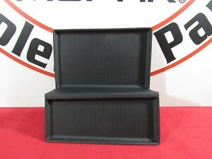 DODGE RAM Center Console Black Rubber Bin Mat Insert NEW OEM MOPAR