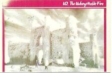RARE / CARTE POSTALE - POSTCARD - U2 BONO : THE UNFORGETTABLE FIRE / NEUF - NEW