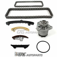 Fits 95-97 VW 2.8L VR6 AAA Upper Double Row Timing Chain Kit + Water Pump Set