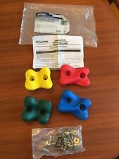 Rock Wall Climbing Pieces and Hardware New (out of package) Swing-N-Slide