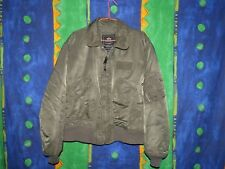 RARISSIMO GIUBBOTTO ALPHA INDUSTRIES BOMBER HARRINGHTON 90'S STYLE TAGLIA LARGE