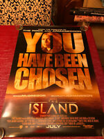 The Island Double-Sided Movie Poster One Sheet Rare Not Folded 27 x 40