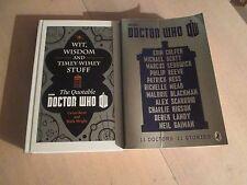 Doctor Who Wit Wisdom & Timey Wimey Stuff + 11 Doctors 11 Stories 2 Books