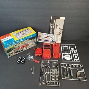 Vtg Hubley Triumph TR3 4-Way Customizing Model Car Kit & Box Unbuilt 150k-170
