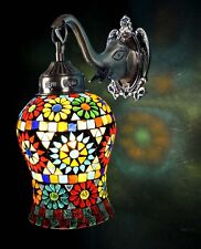 Modern Glass Mosaic Bedside Indoor Home Wall Lamps Sconce Fixture Night Lighting