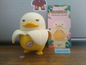 Pop Mart Duckoo Tropical Island Mini Figure Banana