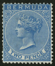 Bermuda  1865-74  Scott #  2  Mint Very Lightly Hinged