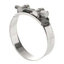 Triton 10 Pack 74mm - 79mm T-BOLT CLAMP - ALL STAINLESS