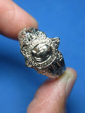 0275-THAI AMULET PAHYA TAO REON RING LP LEW WEALTH RICH