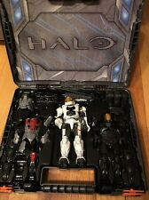 Halo Figure Set In Case UNSC Magnetic 90% Complete