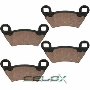 Rear Brake Pads for Polaris Ranger 500 4X4 2002 2003 2004 2005 2006 2007