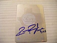 ROBBIE ROSS signed RC RED SOX RANGERS Upper Deck baseball card AUTO Autographed