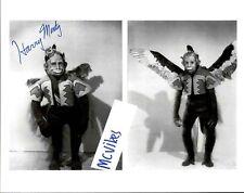 Harry Monty Winged Monkey The Wizard of Oz Autographed Signed 8x10 Photo COA
