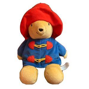 """Kids Gifts Paddington Bear Plush 11"""" Stuffed Animal EUC"""