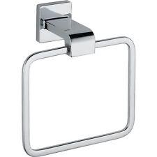 Delta Arzo Modern Chrome Square Hand Towel Ring NIB Sealed 353157