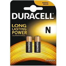 GREAT VALUE TWIN PACK Duracell MN9100B2 N E90 1.5V LR1 Alkaline Batteries