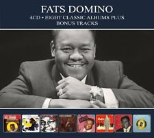 Fats Domino EIGHT (8) CLASSIC ALBUMS Rock And Rollin' FABULOUS MR D New 4 CD