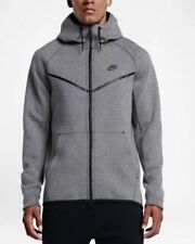 139b6c285c3b0 Mens Nike Sportswear Tech Fleece Windrunner 805144-091 Grey Brand New Size L