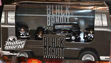 Greenlight Motor World Diorama VW Volkswagen Black Bandit 5 Car Set Bug Samba