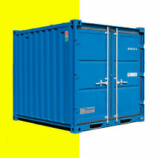 Stahlcontainer, Lagercontainer, Materialcontainer Container ca. 2,4x2,2m, 8 Fuß