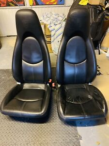 Porsche 997 Turbo Front Leather Fully Electric Heated Seats