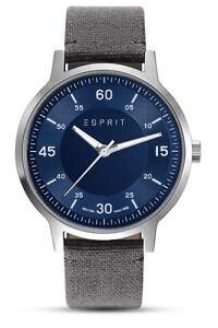 Esprit Herren-Armbanduhr mit Canvas-Armband ES108271006