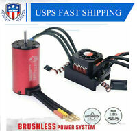 6S 150A Waterproof ESC+Brushless 2000KV Motor For 1/8 EREVO E-Revo E-Maxx UDR US