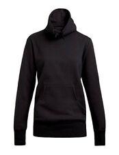 Unifarbene Damen-Kapuzenpullover & -Sweats mit Rollkragen