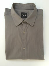 Collared Fitted Striped ARMANI Casual Shirts & Tops for Men